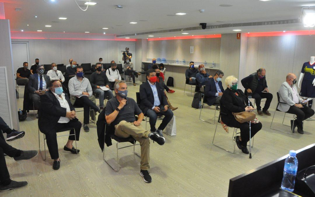 La UE Valls assisteix a la reunió de presidents de la FCF