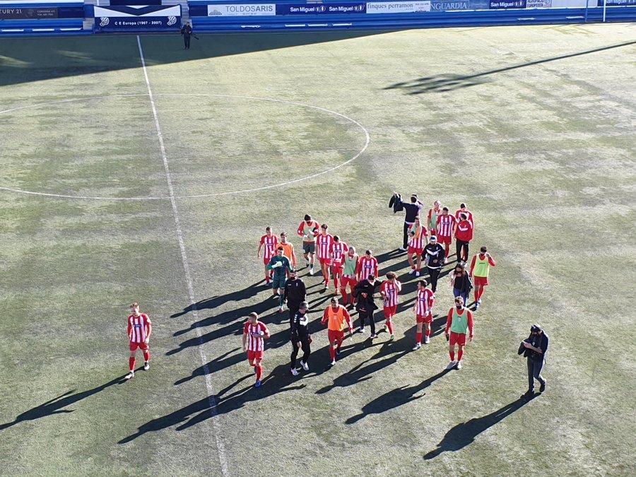 Segon punt de la temporada al camp de l'Europa