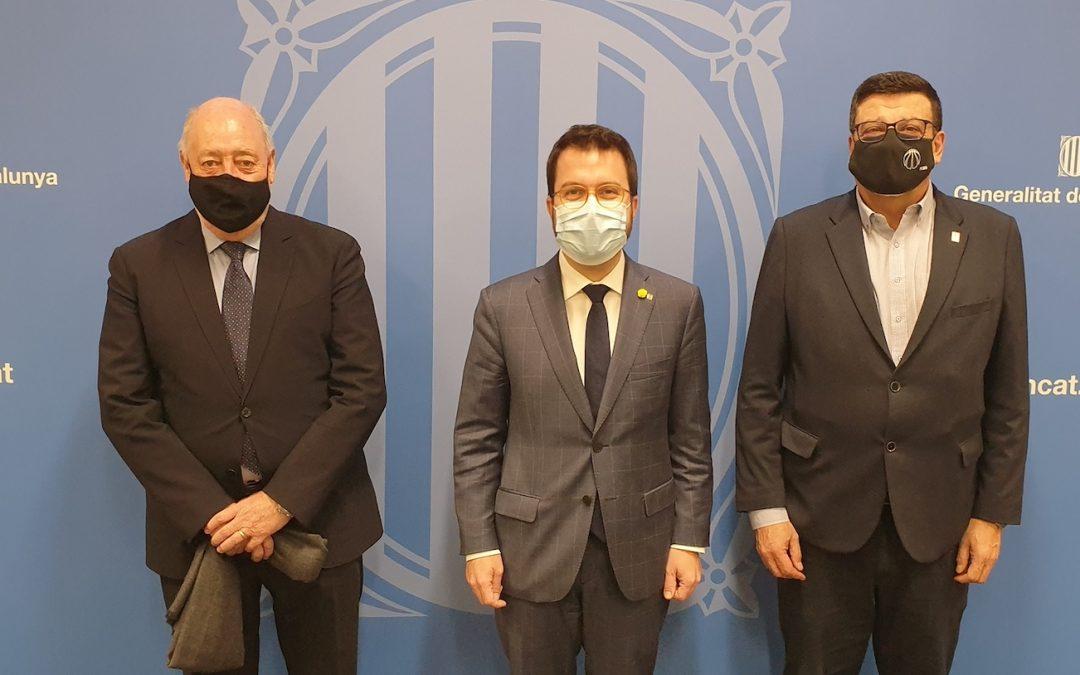 El futbol i el bàsquet català reivindiquen mesures urgents davant el govern
