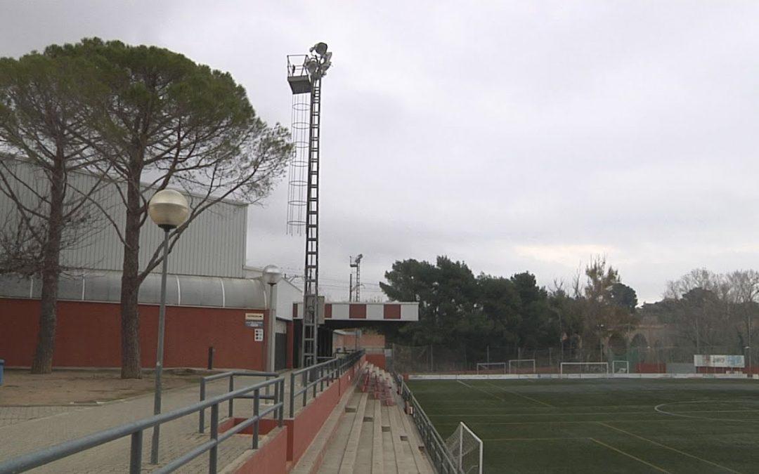 L'estadi del Vilar tindrà millores en l'enllumenat i les oficines
