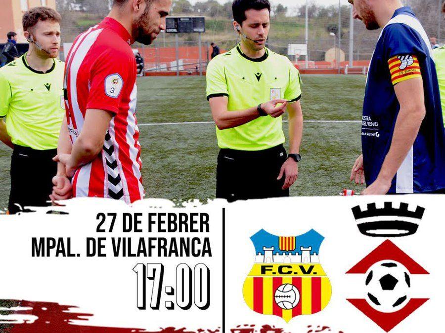 Segueix el FC Vilafranca – UE Valls a Ràdio Ciutat de Valls