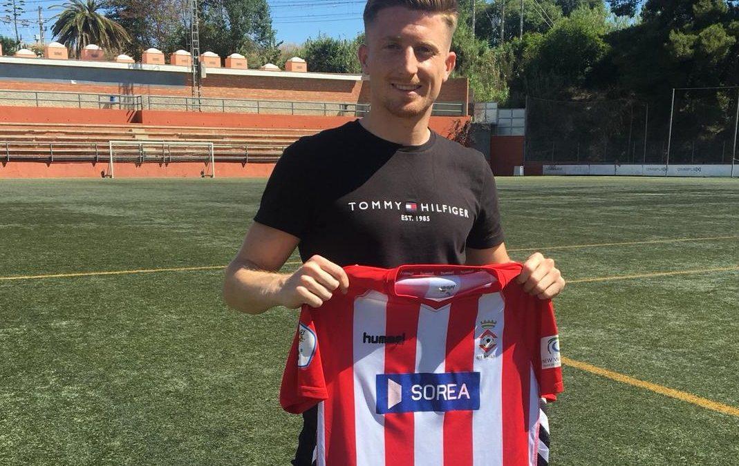 Joan Domingo, el primer fitxatge de la temporada 2021-22 de la UE Valls