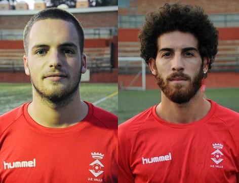 Cesc Martínez i Ramón Miranda, dos jugadors més que renoven